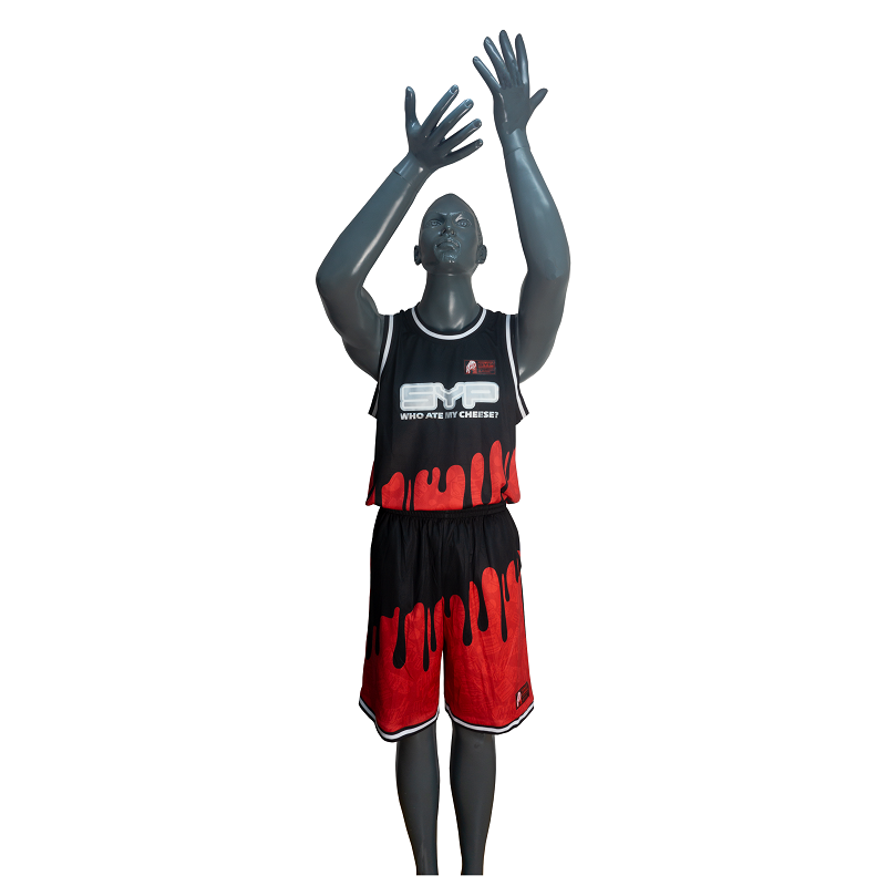 Basketball Uniform FW701101 SYP - Black