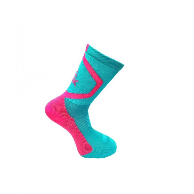 Sock W461021 - Green/Rouge