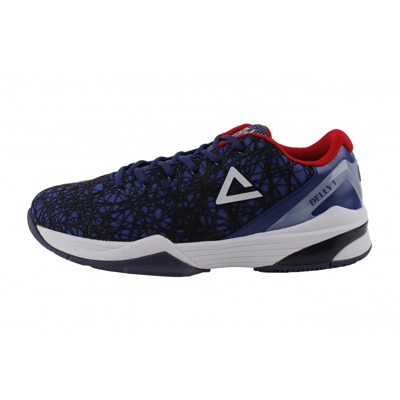 Delly1 - Navy/Red